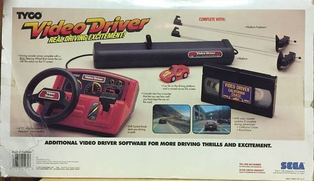 Así era Video Driver, la extraña consola desconocida de SEGA Imagen 6
