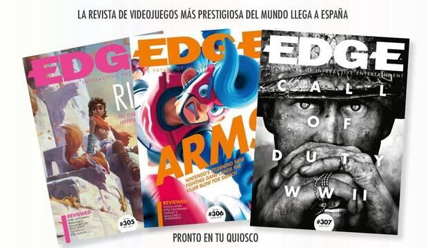 La revista EDGE se volverá a publicar en España Imagen 2