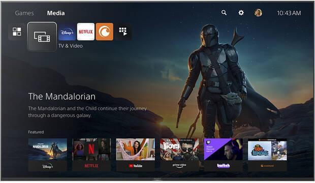 PS5 servicios de streaming