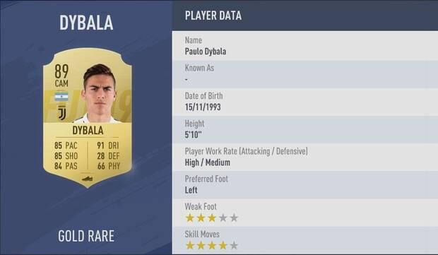 Paulo Dybala FIFA 19