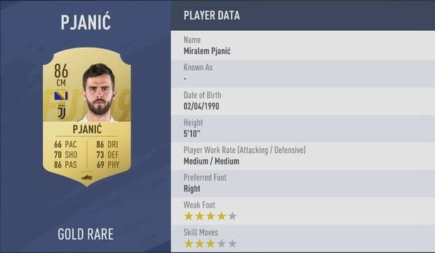 Miralem Pjanic FIFA 19