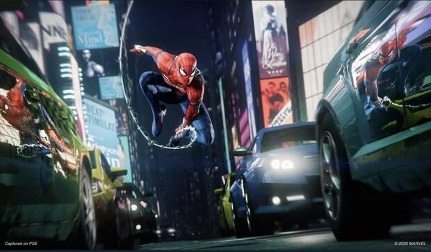 Spider-Man Remastered PS5 compatible avec le jeu PS4