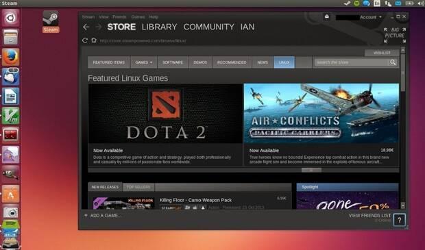 Valve está trabajando para llevar los juegos de Steam y Windows a Linux Imagen 2