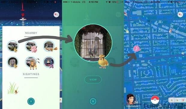 Nuevo radar Pokémon GO