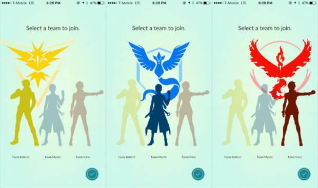 Equipos de Pokémon GO