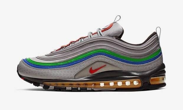 Las nuevas zapatillas Air Max 97 de Nike están inspiradas en Nintendo 64 Imagen 2