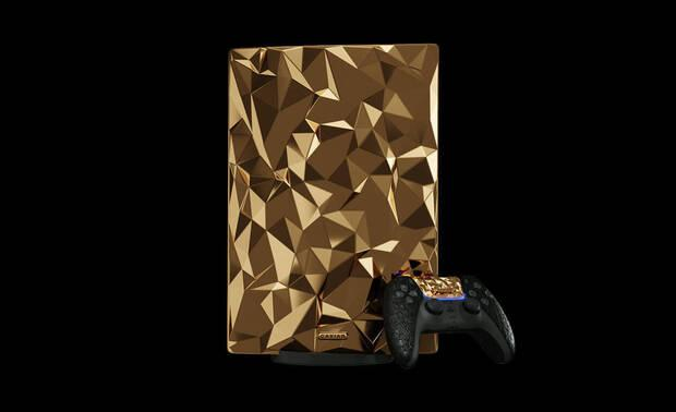 PS5 oro modelo exclusivo