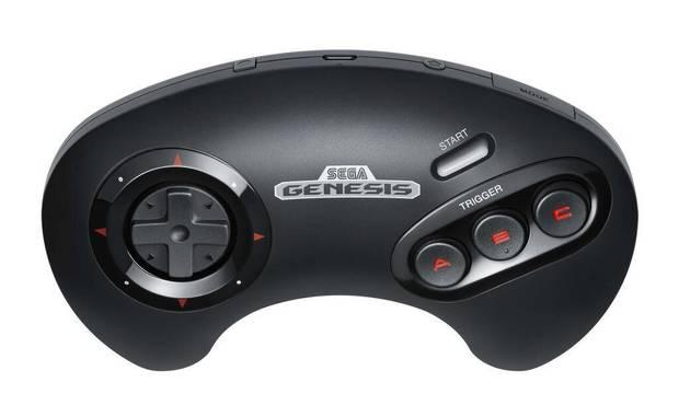 Mando de SEGA Mega Drive para Nintendo Switch Online.