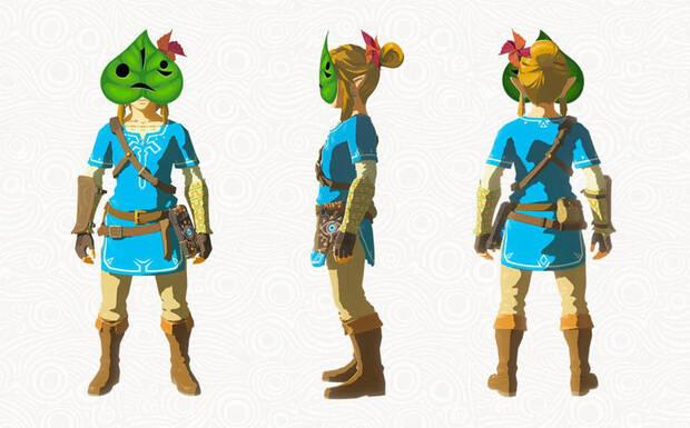 Link con la Máscara Kolog