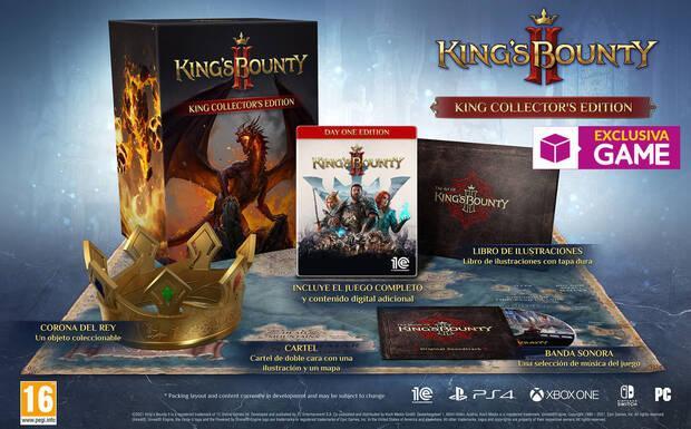 Kings Bounty II: Kings Collector's Edition en GAME.