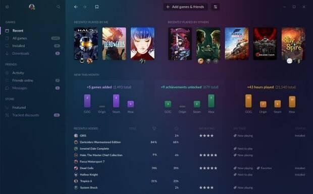 GOG Galaxy 2.0 quiere aunar todos los juegos de PC y consolas Imagen 3
