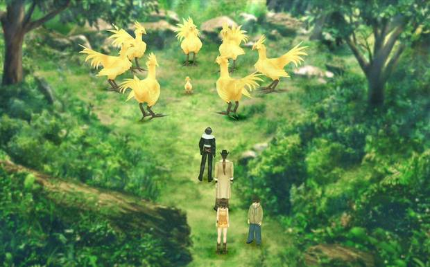 Final Fantasy VIII Remastered - Santuario Chocobo