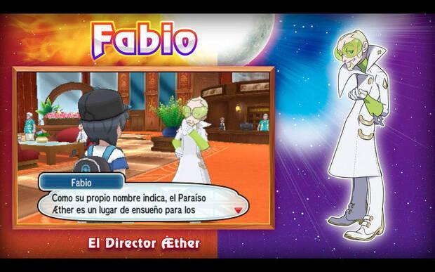 Fabio Fundación Aether Pokémon Sol y Luna