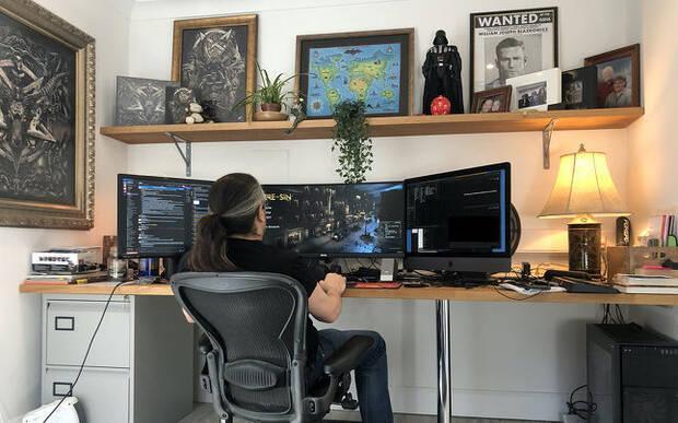 Desde casa: Los profesionales del videojuego muestran cómo trabajan en sus hogares Imagen 3