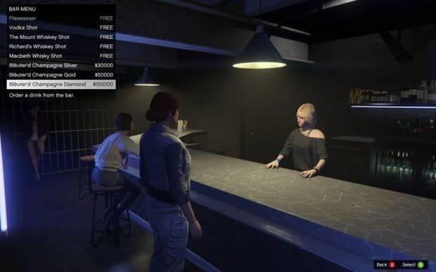 Grand Theft Auto Online vende un champán de 150.000 dólares GTA Imagen 2