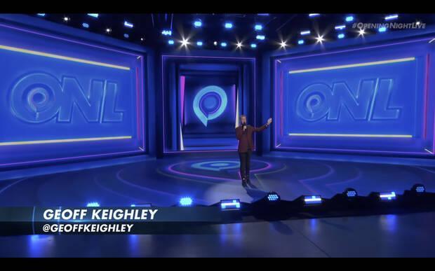 Geoff Keighley en la Opening Night Live de Gamescom 2021.