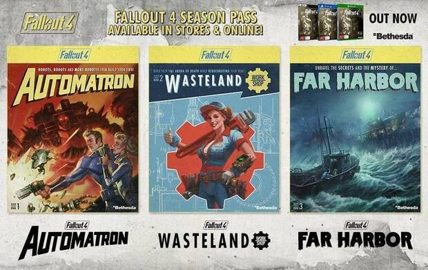 Fallout 4 season pass dlc demanda