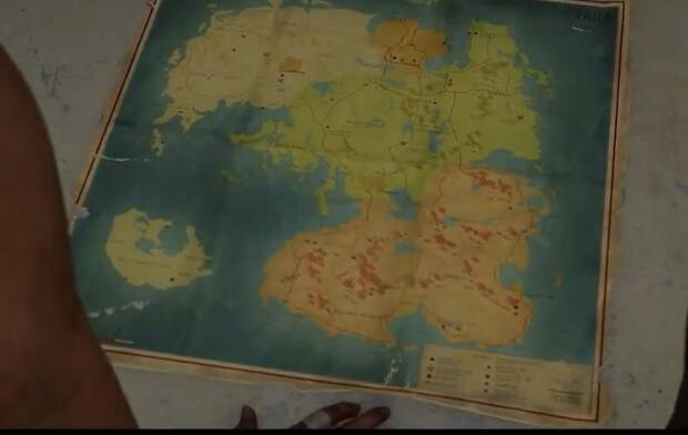 Far Cry 6 and its map
