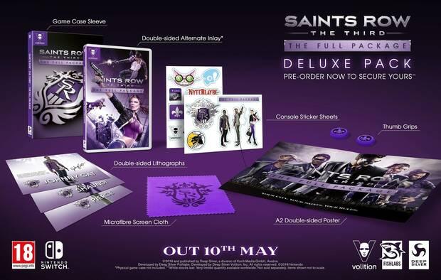 Saints Row: The Third estrena tráiler y detalles de su edición Deluxe en Switch Imagen 2