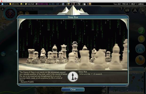 Crean un 'mod' sobre superinteligencias artificiales para Civilization 5 Imagen 2