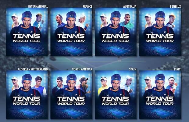 Tennis World Tour Imagen 1