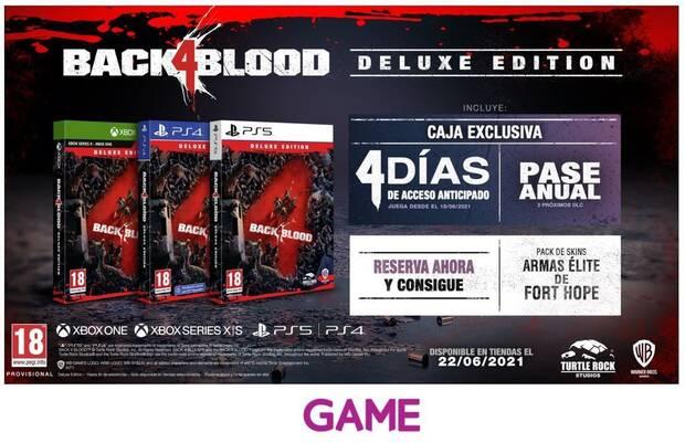Deluxe Edition de Back 4 Blood en GAME