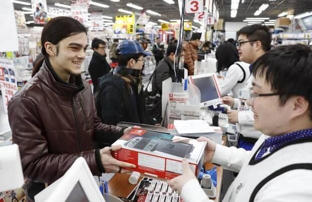 Nintendo Switch sigue como la consola más vendida de Japón Imagen 2