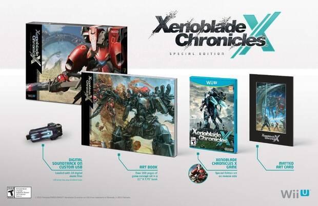 Detallada la edición especial de Xenoblade Chronicles X para América Imagen 2