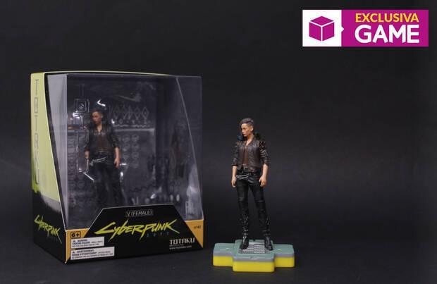 Cyberpunk 2077 muestra sus tres figuras Totaku dedicadas a Keanu Reeves y V Imagen 3