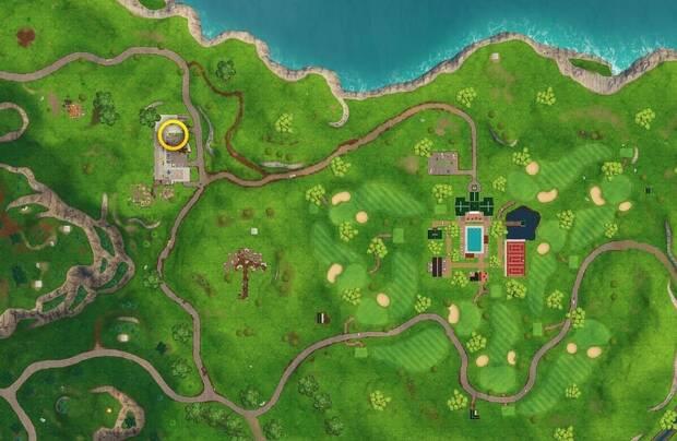 Fortnite: localización de la estrella de Viaje por carretera (Semana 7)