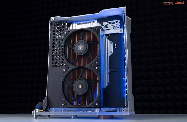 PS5 refrigerada