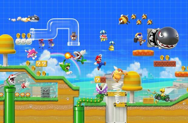 Super Mario Maker 2 presenta multitud de novedades, como el multijugador online Imagen 6