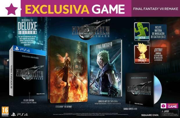 Game detalla el contenido de la Deluxe Edition de Final Fantasy VII Remake Imagen 2