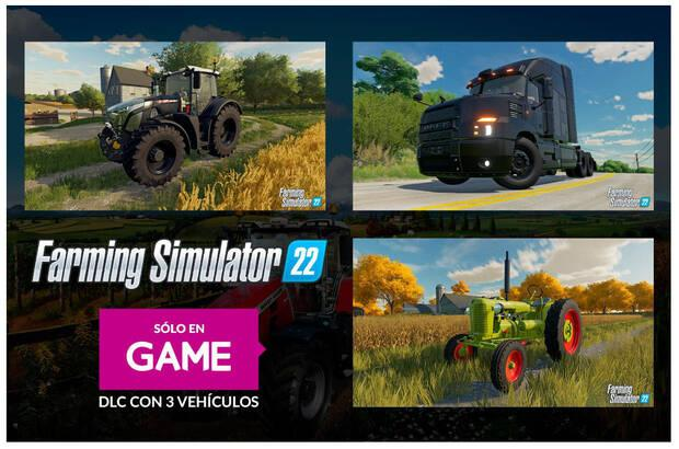 DLC de Farming Simulator 22 en GAME