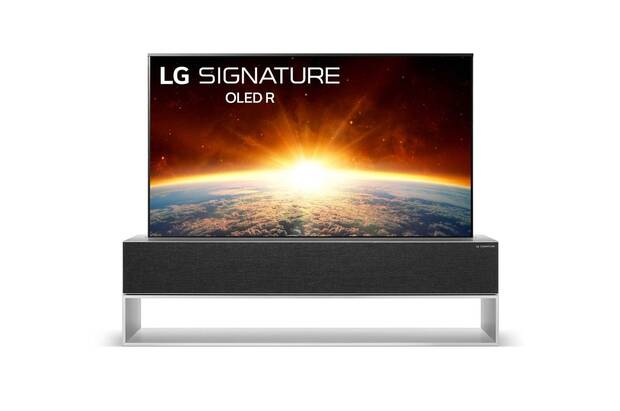 LG lanza la primera televisión enrollable del mundo con 4K HDR y por 87.000 dólares Imagen 2