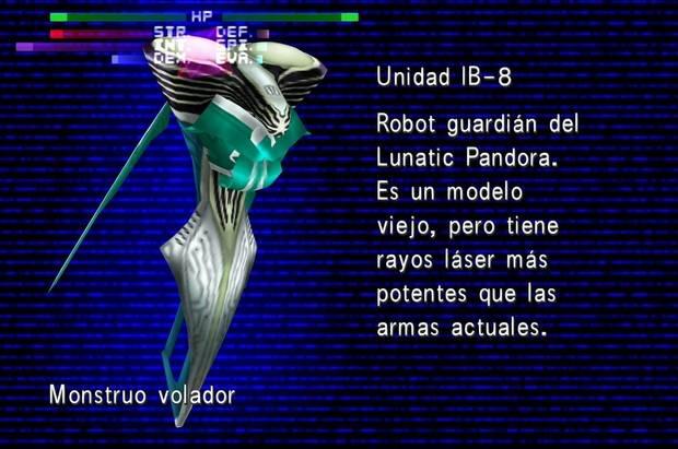 Final Fantasy VIII Remastered - Unidad IB-8