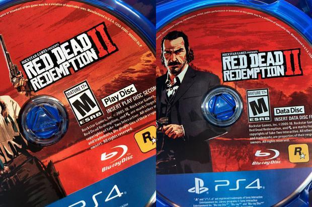 Red Dead Redemption 2: Así son los dos discos de la edición física Imagen 2