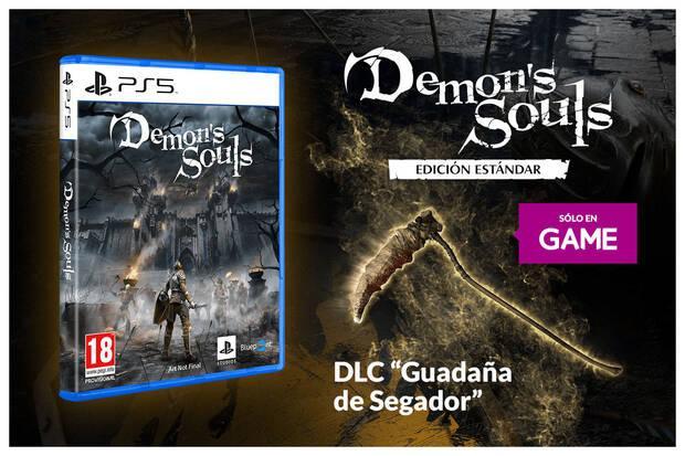 GAME regala un arma para Demon's Souls Remake por su reserva Imagen 2