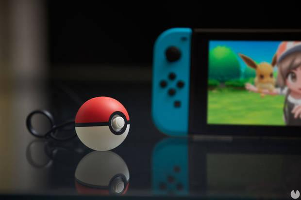 La Pokéball Plus en Pokémon Let's Go