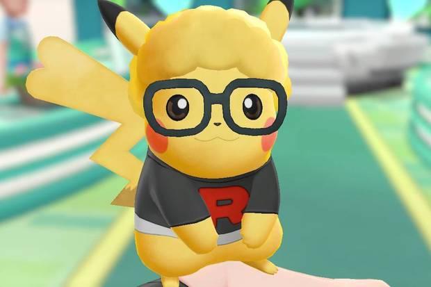 Peinados Pikachu y Eevee Pokémon Let's Go