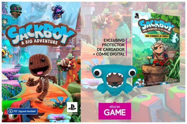 GAME detalla sus incentivos por reservar Sackboy: Una aventura a lo grande en PS4 y PS5 Imagen 2