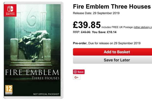 Rumor: Fire Emblem: Three Houses podría haberse retrasado a septiembre Imagen 2