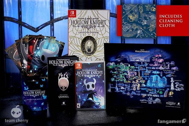Ya se pueden reservar las ediciones físicas de Hollow Knight Imagen 3