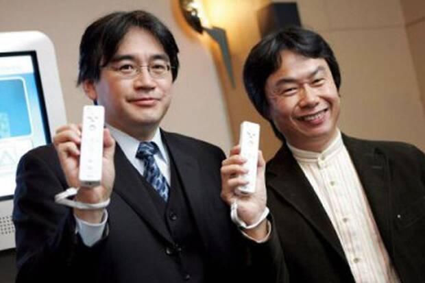Miyamoto Iwata wii