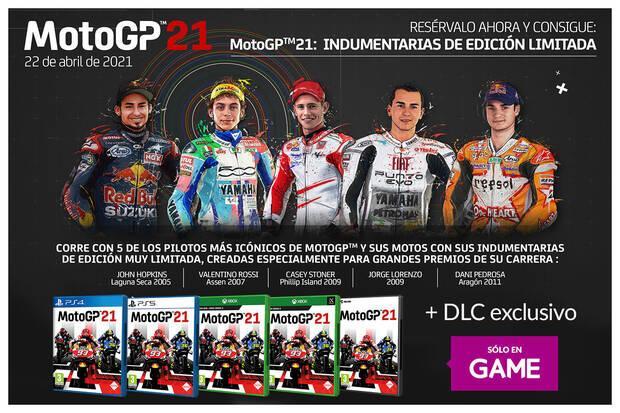 DLC de MotoGP 21 exclusivo de GAME.