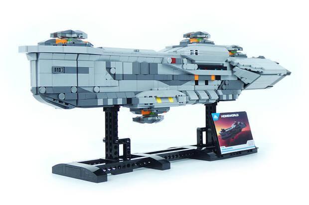 Presentados tres espectaculares figuras de LEGO inspiradas en Homeworld Imagen 2