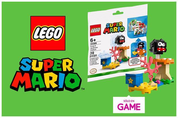 Regalo exclusivo con la reserva de LEGO Super Mario - Luigi en GAME.
