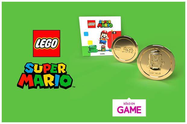 Moneda conmemorativa de LEGO Super Mario - Luigi en GAME.