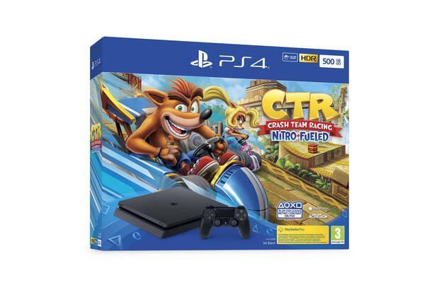 Sony anuncia nuevos packs de PS4 con Crash Team Racing Nitro-Fueled Imagen 2