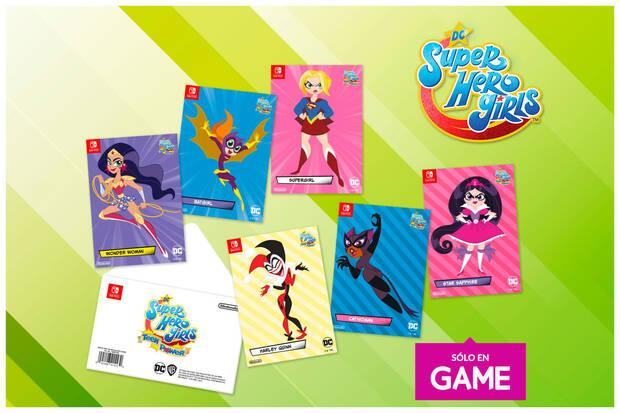GAME abre las reservas de DC Super Hero Girls: Teen Power con un set de postales exclusivo